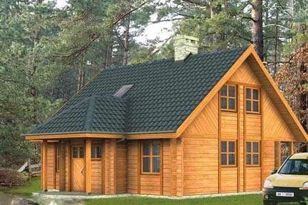 дома на основе деревянного каркаса г.Владикавказ