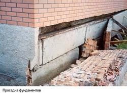 Восстановление фундамента г.Владикавказ